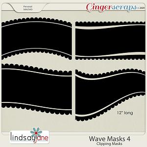 Wave Masks 4 by Lindsay Jane