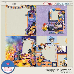 Happy Halloween - quick pages