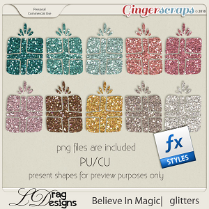 Believe In Magic: Glitterstyles by LDragDesigns