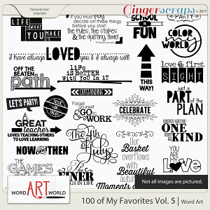 100 of My Favorites Vol. 5