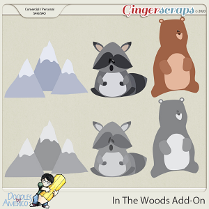 Doodles By Americo: In The Woods Add-On