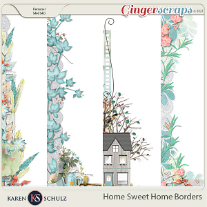 Home Sweet Home Borders by Karen Schulz