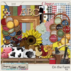 On the Farm from Designs by Lisa Minor
