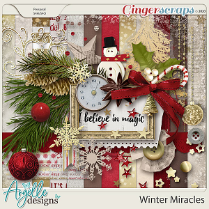 Winter Miracles by Angelle Designs