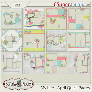 My Life - April Quick Pages