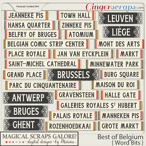 Best of Belgium (word bits)