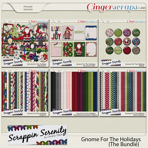 Gnome For The Holidays {The Bundle}