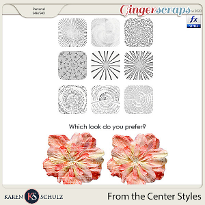 From the Center Styles by Karen Schulz