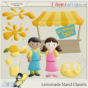 Doodles By Americo: Lemonade Stand Cliparts