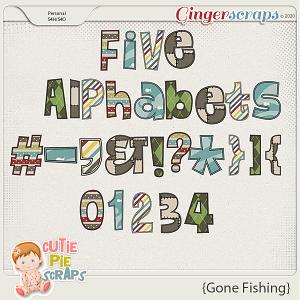Gone Fishing Alphabets