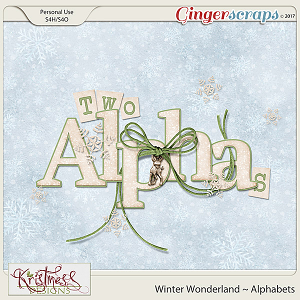 Winter Wonderland Alphabet