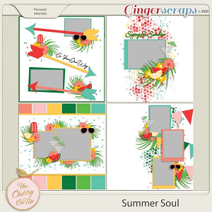 The Cherry On Top:  Summer Soul Templates