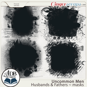 Uncommon Men: Husbands & Fathers Masks by ADB Designs