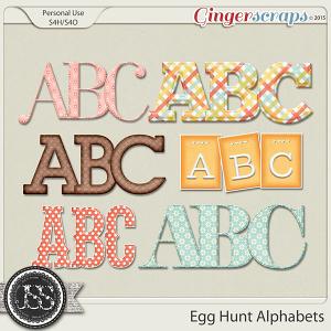 Egg Hunt Alphabets