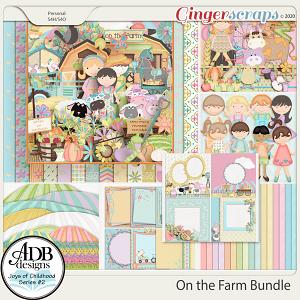 On the Farm Bundle by ADB Designs