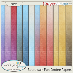 Boardwalk Fun Ombre Papers