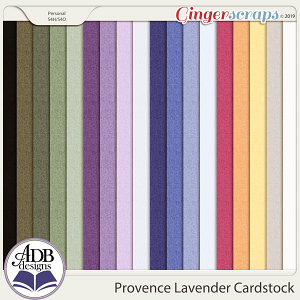 Provence Lavender Solid Papers by ADB Designs