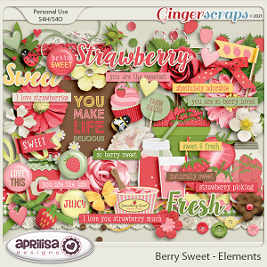 Berry Sweet - Elements by Aprilisa Designs