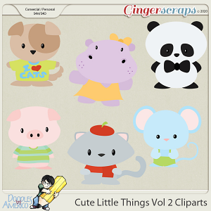 Doodles By Americo: Cute Little Things Vol 2 Cliparts