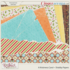 A Kristmess Carol Shabby Papers