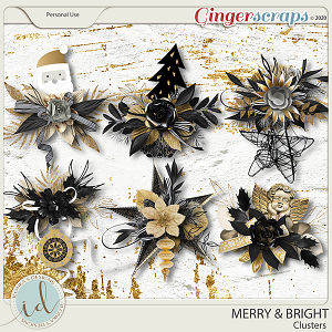 Merry & Bright Clusters by Ilonka's Designs
