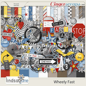 Wheely Fast by Lindsay Jane