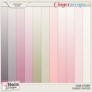 Our Story - Ombre Papers - by Neia Scraps