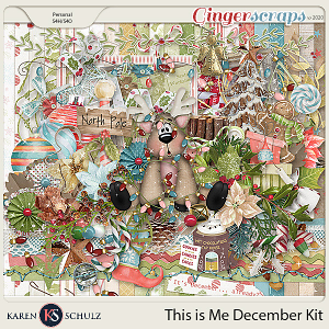 This is Me December Kit by Karen Schulz