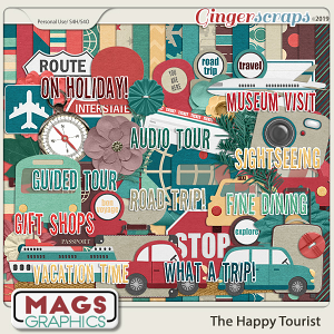 The Happy Tourist KIT by MagsGraphics