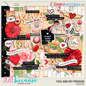 You Are My Person Page Kit by JB Studio