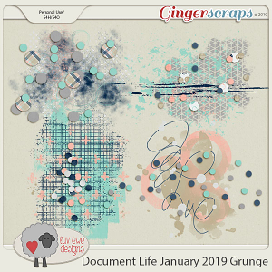Document Life January 2019 Grunge by Luv Ewe Designs