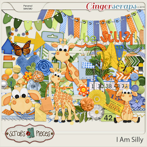 I Am Silly Embellishments by Scraps N Pieces