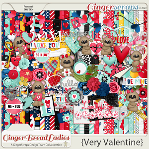GingerBread Ladies Monthly Mix: Very Valentine