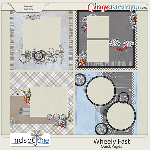 Wheely Fast Quick Pages by Lindsay Jane