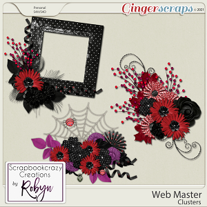 Web Master Clusters by Scrapbookcrazy Creations