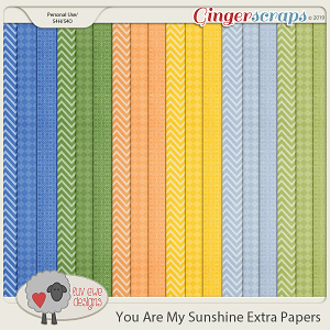You Are My Sunshine Extras by Luv Ewe Designs