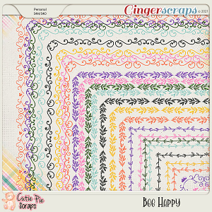 Bee Happy-Page Borders