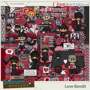 Love Bandit by BoomersGirl Designs