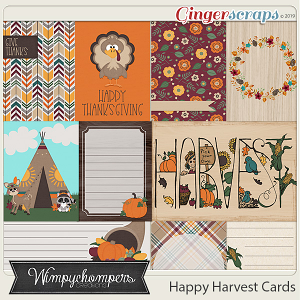 Happy Harvest- Cards