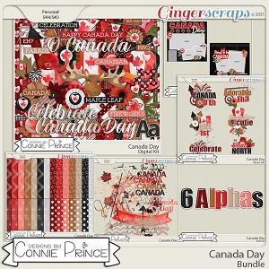 Canada Day  - Bundle by Connie Prince