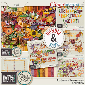 Autumn Treasures Collection by Chere Kaye Designs and Aimee Harrison