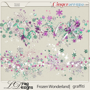 Frozen Wonderland: Graffiti by LDragDesigns