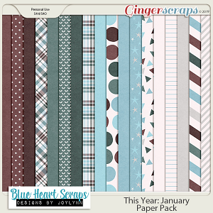 This Year: January Paper Pack