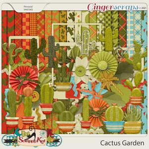 Cactus Garden by The Scrappy Kat