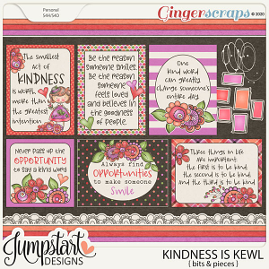 Kindness Is Kewl {Bits & Pieces} by Jumpstart Designs