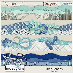 Just Beachy Borders by Lindsay Jane