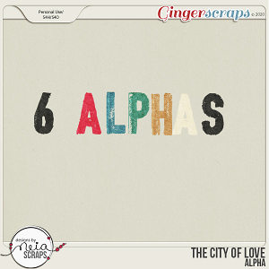 On Location: The City of Love - Alpha - by Neia Scraps