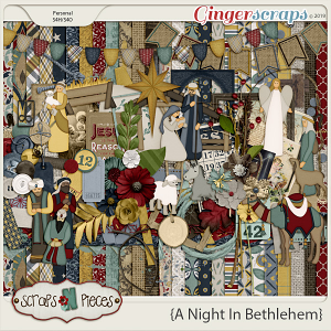A Night In Bethlehem kit by Scraps N Pieces