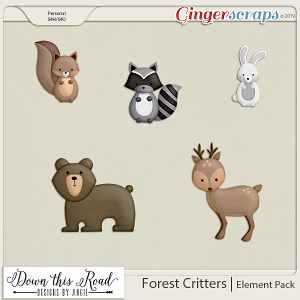Forest Critters|Element Pack