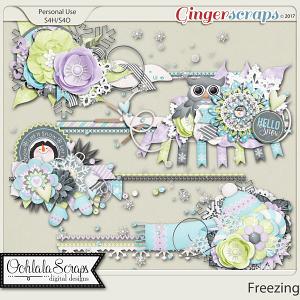 Freezing Cluster Stitches